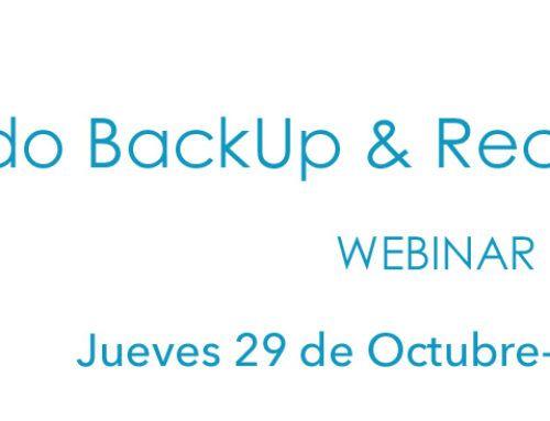 Webinar EON : Haciendo Backup & Recovery de Microsoft365